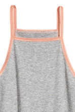 Ribbed nightslip - Grey marl - Ladies | H&M 3